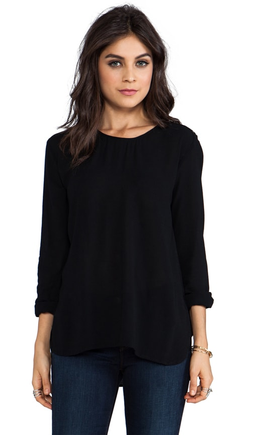 Button Shoulder Top
