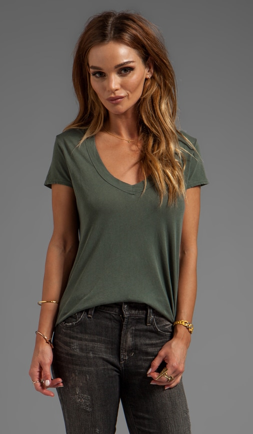 Relaxed Casual V-Neck