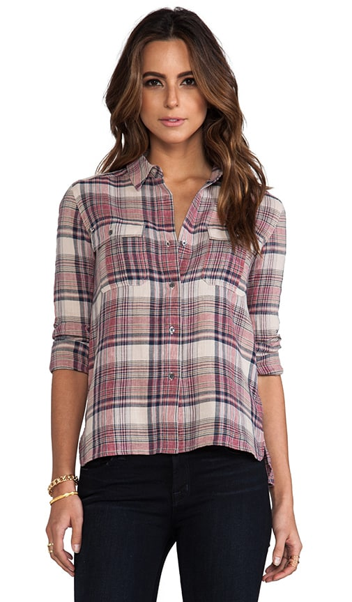 Shorteditch Plaid Pocket Shirt