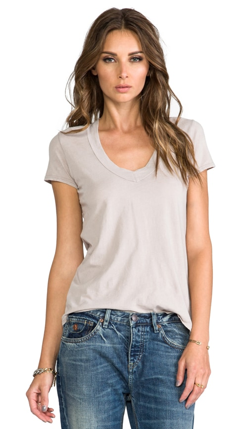 Relaxed Casual V Neck
