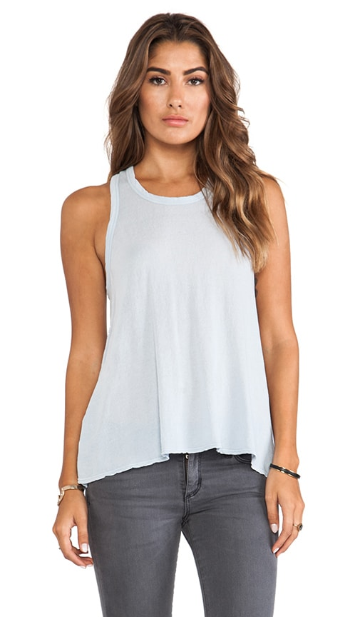 Crepe Jersey A Line Tank