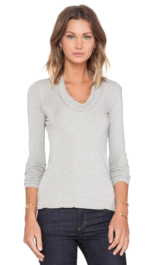 Skinny Cowl Cashmere Top