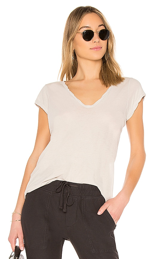 High Gauge Deep V Tee
