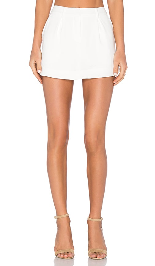 James Jeans Trouser Skort in White