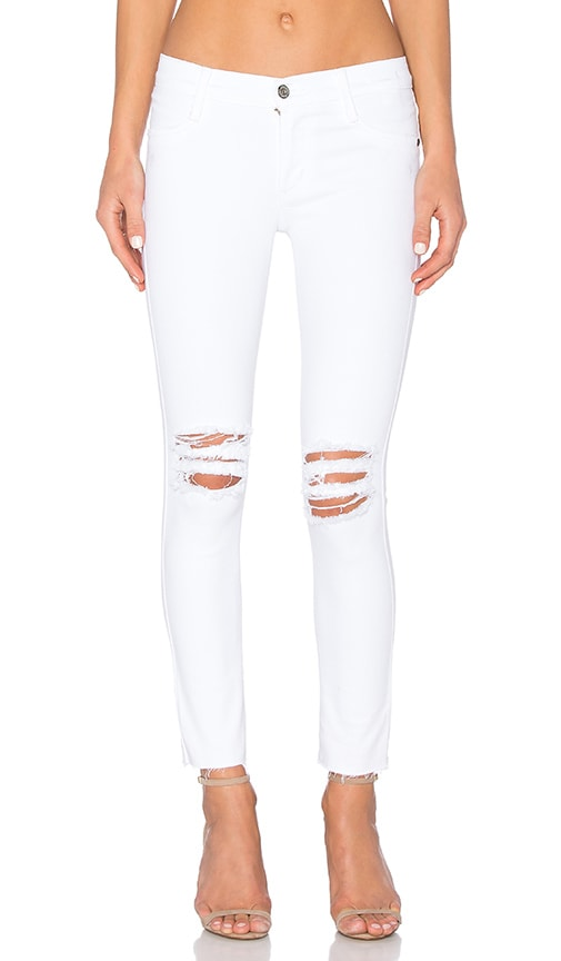 James Jeans Twiggy Ankle in Frost White