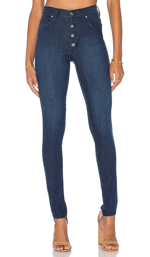 High Class Button Fly Skinny