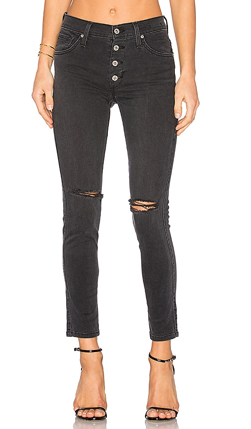 James Jeans High Class Ankle Skinny in Vintage Black