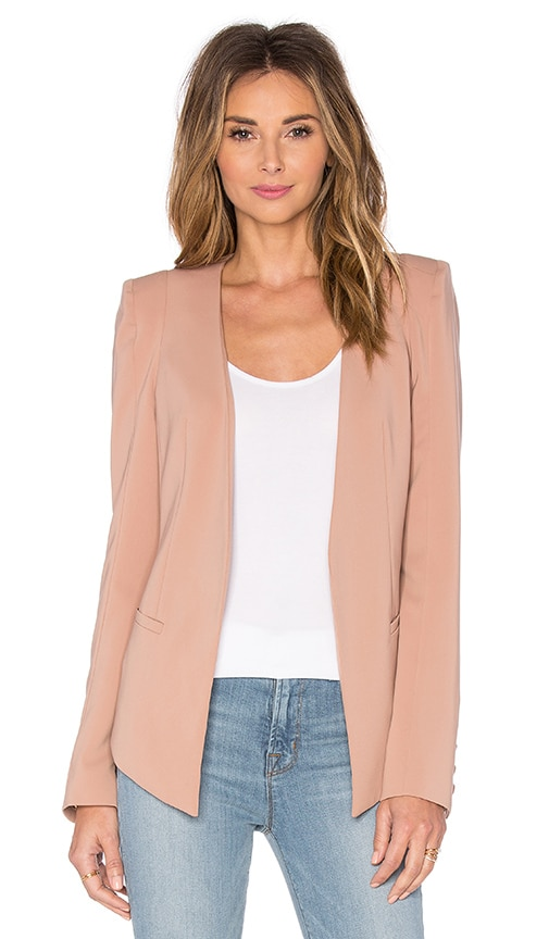 James Jeans V Blazer in Beige