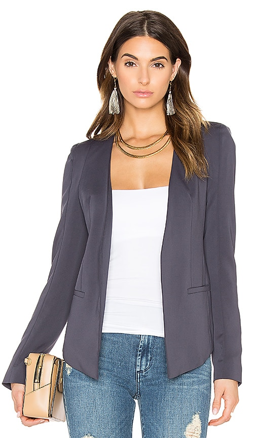 James Jeans V Blazer in Charcoal