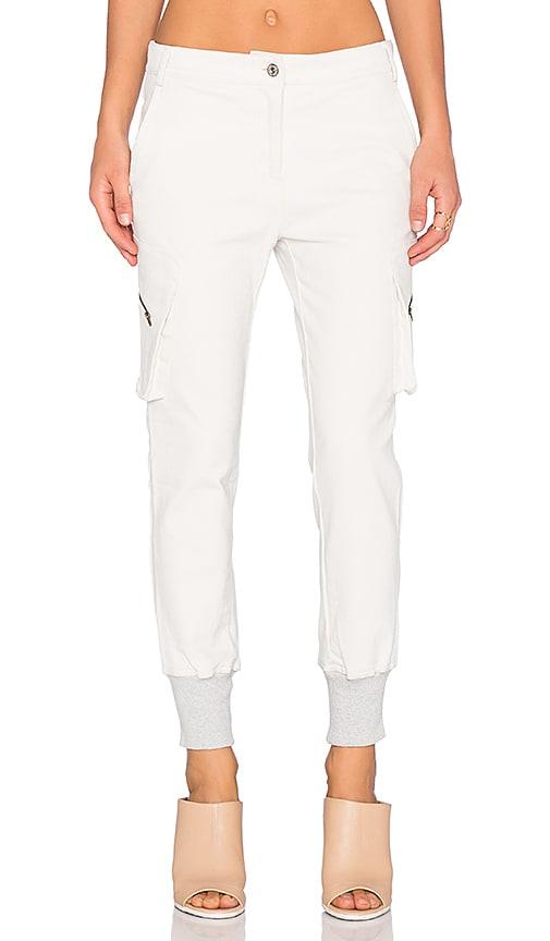 James Jeans Boyfriend Cargo in Winter White