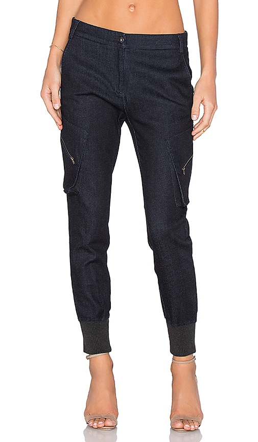 James Jeans Boyfriend Cargo Pant in Desire