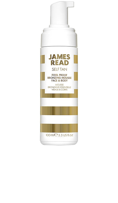 JAMES READ TAN Fool Proof Bronzing Mousse Face & Body in N/A