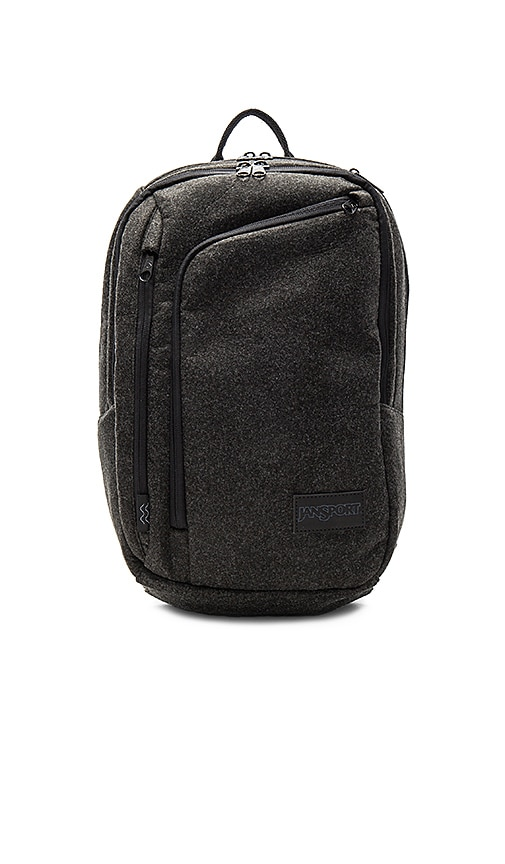 Jansport x I Love Ugly Platform Backpack in Charcoal