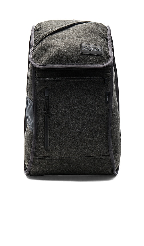 Jansport x I Love Ugly Iron Sight Backpack in Charcoal