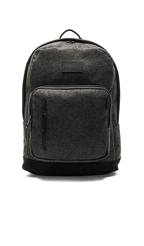 Jansport x I Love Ugly Axiom Backpack in Charcoal