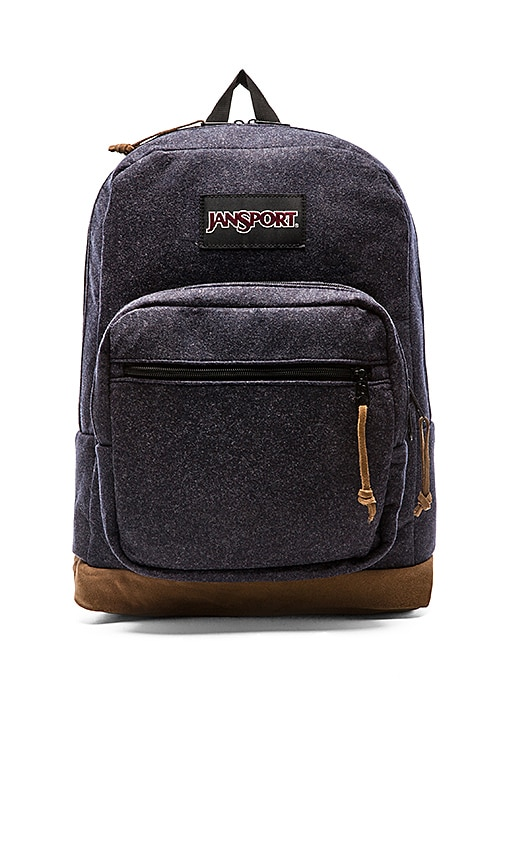 Jansport Right Pack Digital Edition in Navy Blue Felt  7ceafcf9c1