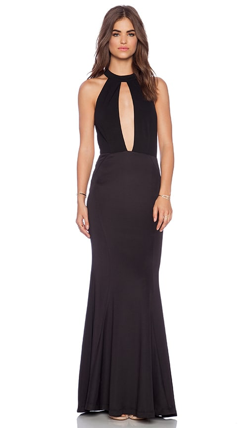 JARLO Jolie Maxi Dress in Black