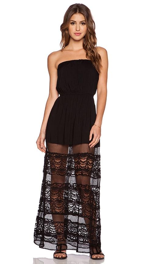 JARLO Amelia Maxi Dress in Black