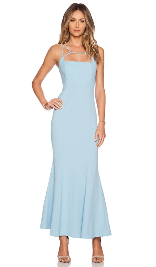 JARLO Jade Maxi Dress in Blue