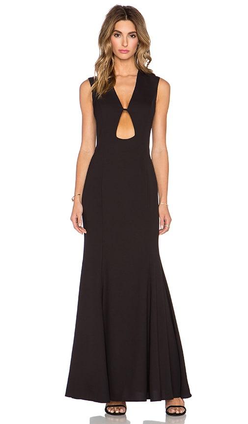 JARLO Cleo Maxi Dress in Black