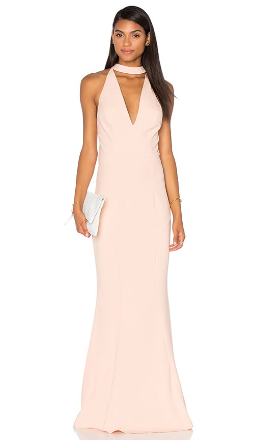 JARLO Harper Dress in Peach