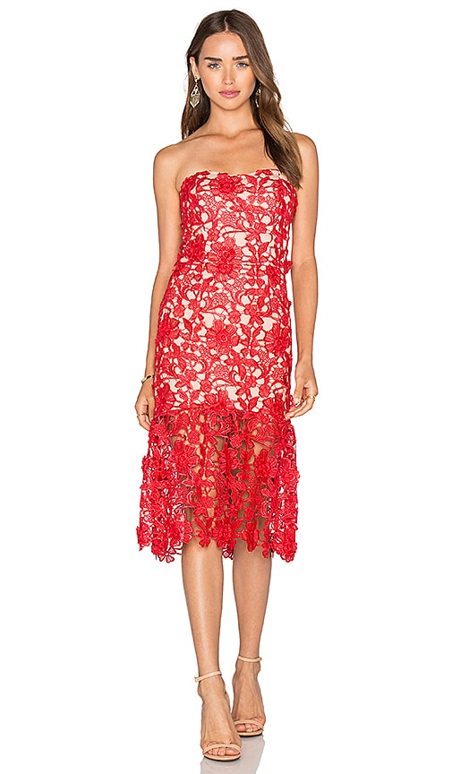 JARLO Charlie Dress in Red