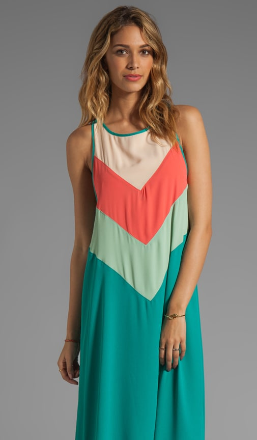 Marnie Chevron Maxi Dress