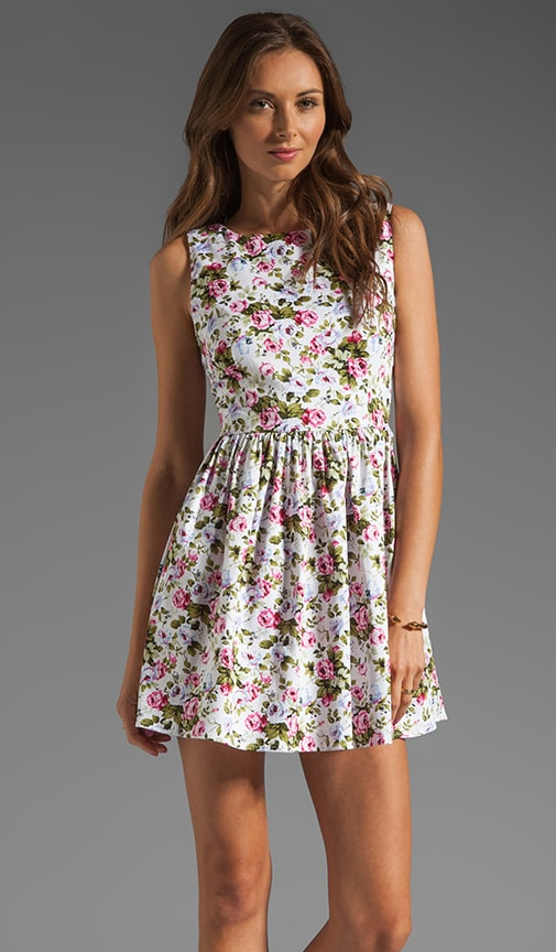 Selena Floral Dress
