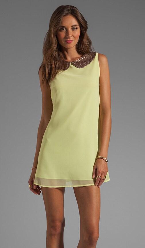 Lyndsay Sequin Collar Dress