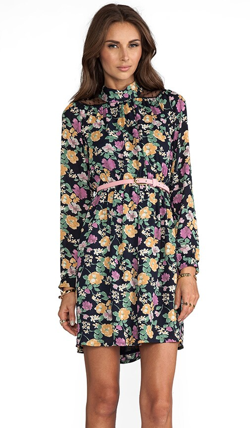 Jesse Long Sleeve Floral Dress