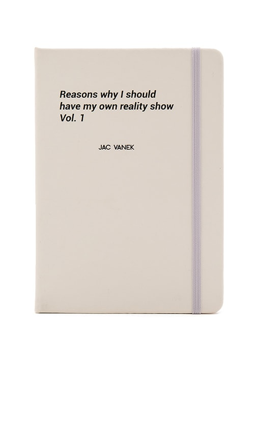 Reality Show Notebook