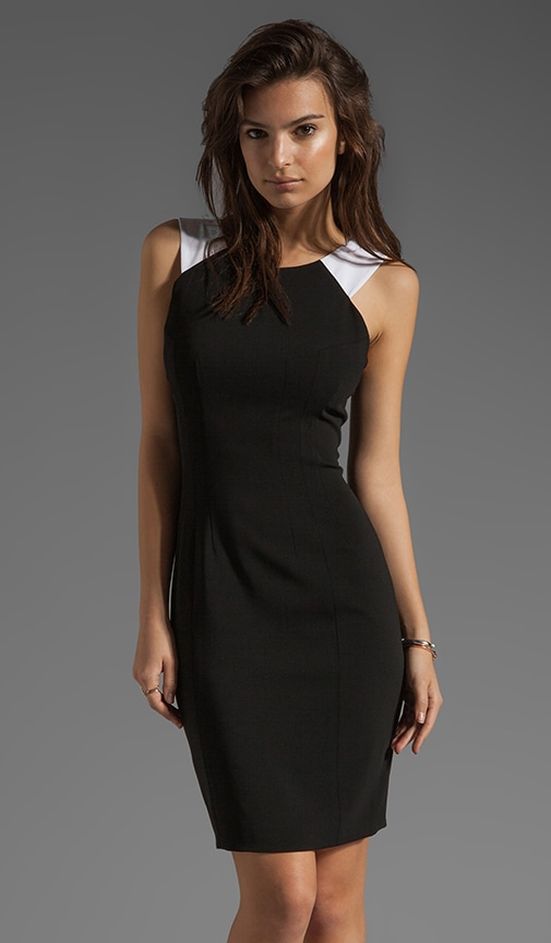 Spencer Racer Front Sheath Dress