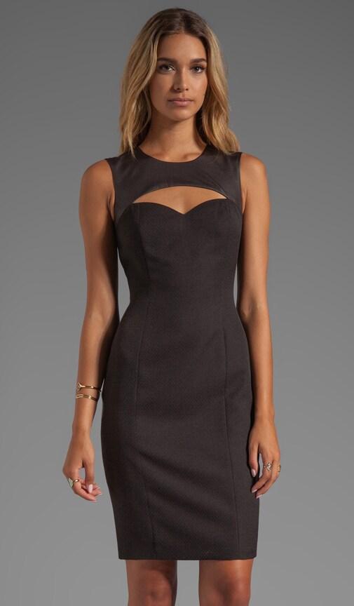 Strachan Jacquard Sheath Dress