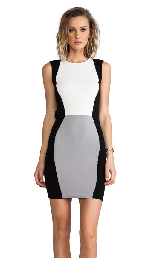 Sterling Colorblock Knit Sheath