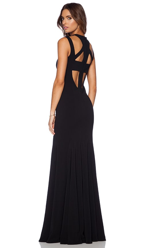 Foyt V Back Gown