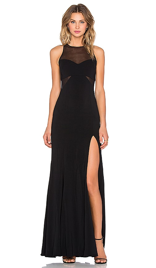 Barrington Mesh Inset Gown