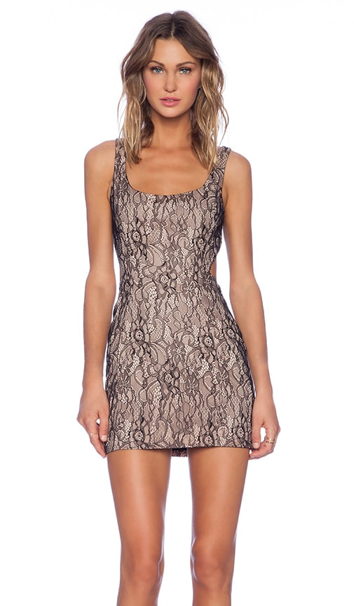 Lockhart Lace Cut Out Dress