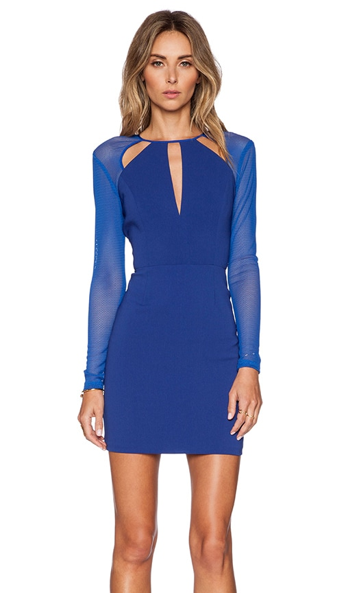 Jay Godfrey Moore Dress in Blueberry