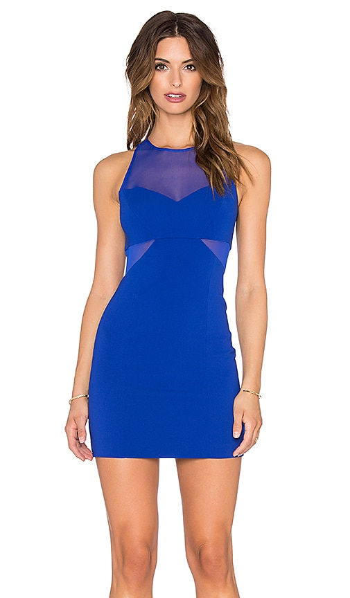 Jay Godfrey Ava Dress in Blue