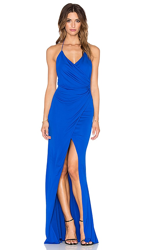 Jay Godfrey Prince Dress in Cobalt