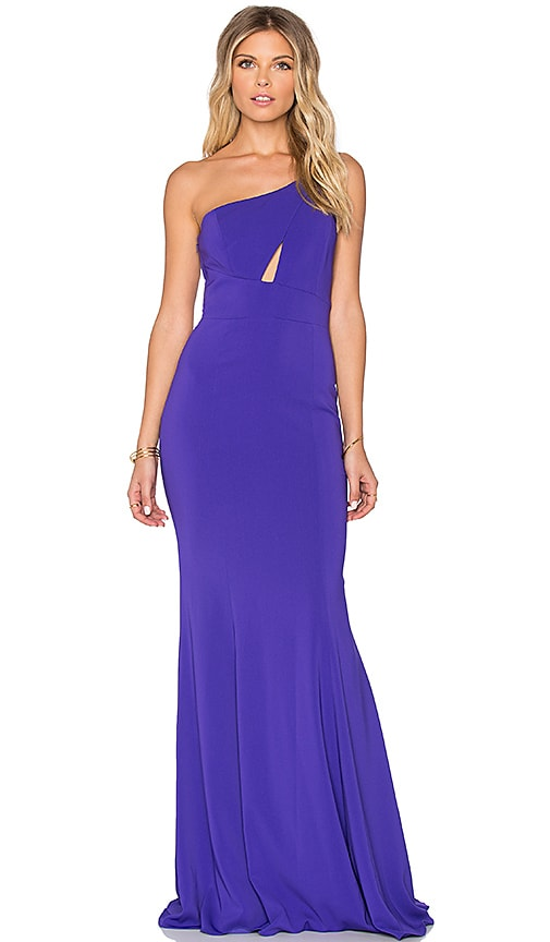 Jay Godfrey Carranza Maxi Dress in Indigo
