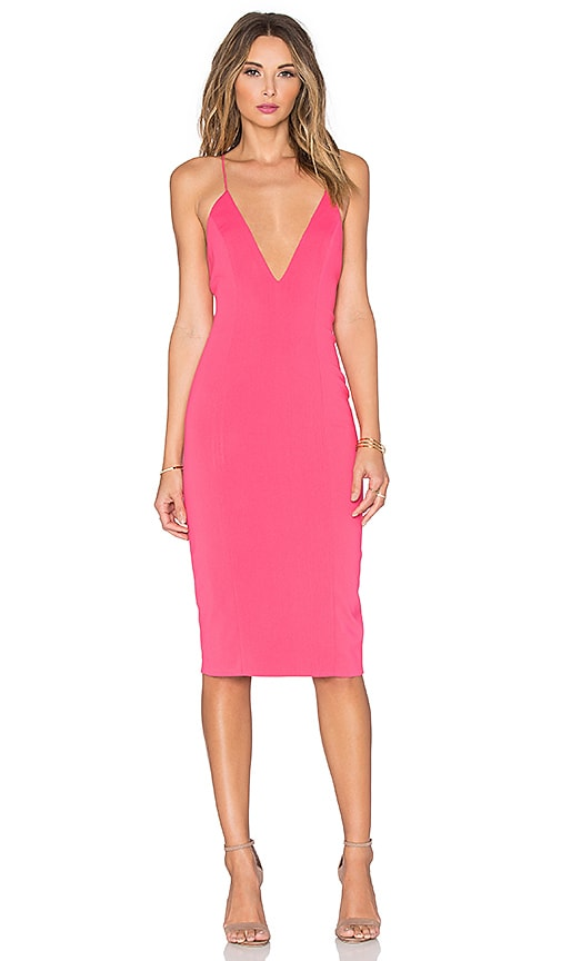 Jay Godfrey Davies Dress in Pink