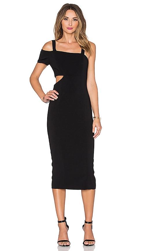 Jay Godfrey Verlaine Dress in Black