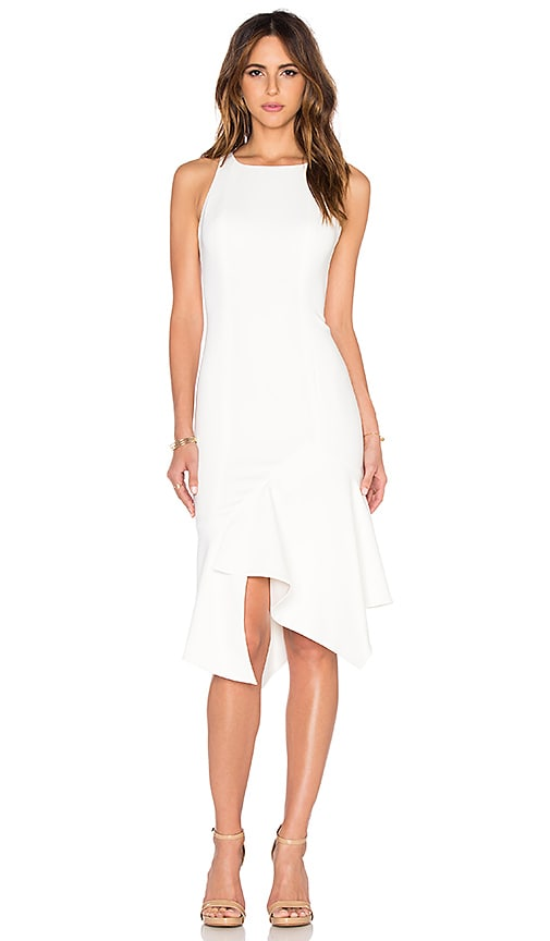 Jay Godfrey Pitt Dress in Light Ivory