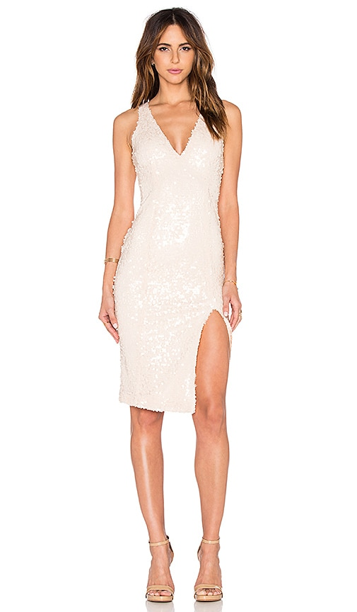 Jay Godfrey Marin Dress in Beige