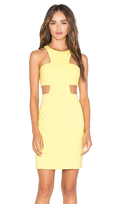 Jay Godfrey Elmore Dress in Yellow