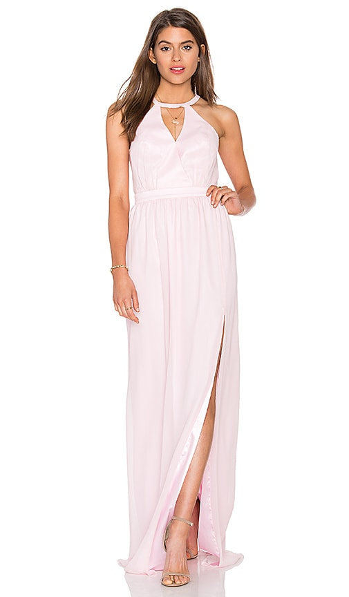 Jay Godfrey Burton Dress in Soft Pink
