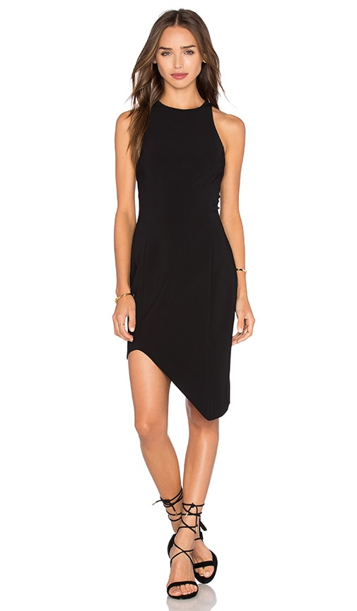 Jay Godfrey Gallagher Dress in Black