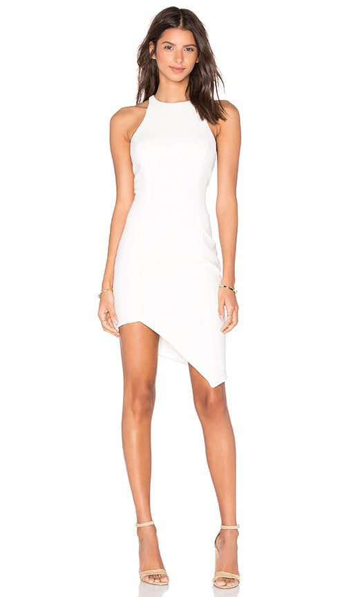 Jay Godfrey Gallagher Dress in White