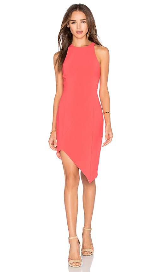 Jay Godfrey Gallagher Dress in Coral